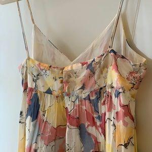 2002 Zara Dress, MultiColor/Floral/Spring, Small